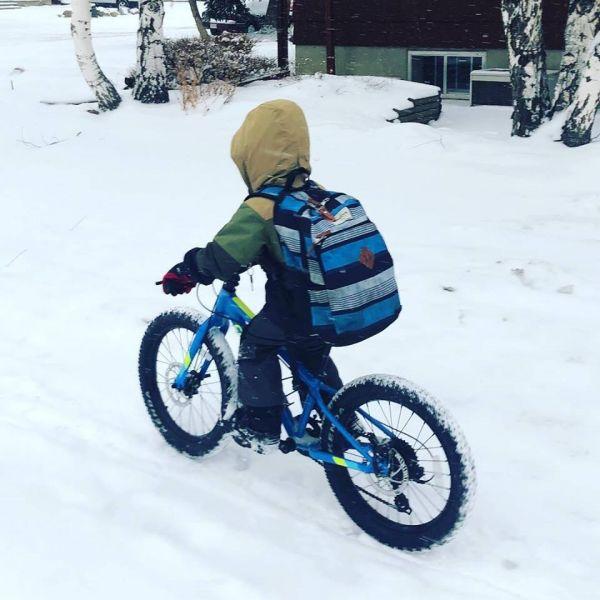 Carthew winter biking