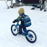 Carthew winter biking