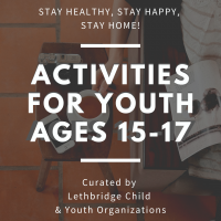 Activities for youth ages 15-17 (1)
