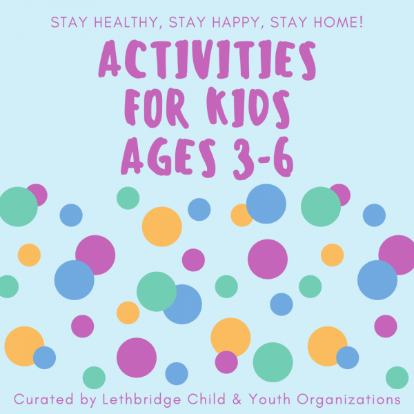 Activities for kids ages 3-6